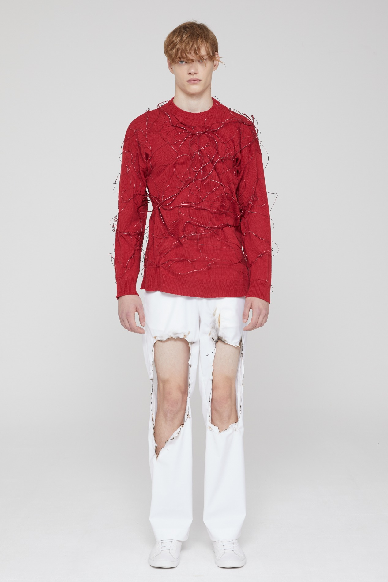 [ATELIER LINE] THORN KNIT (RED)