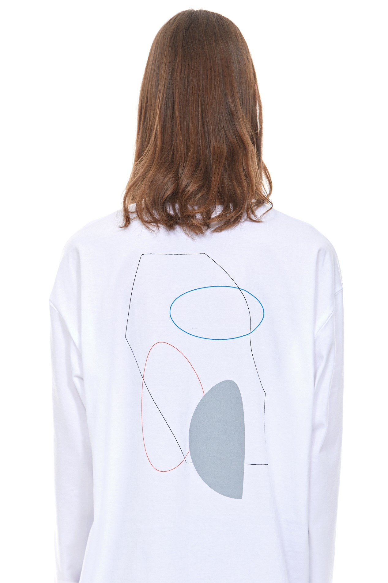 PAINTING ARCHIVE035 LONG-SLEEVE(White)