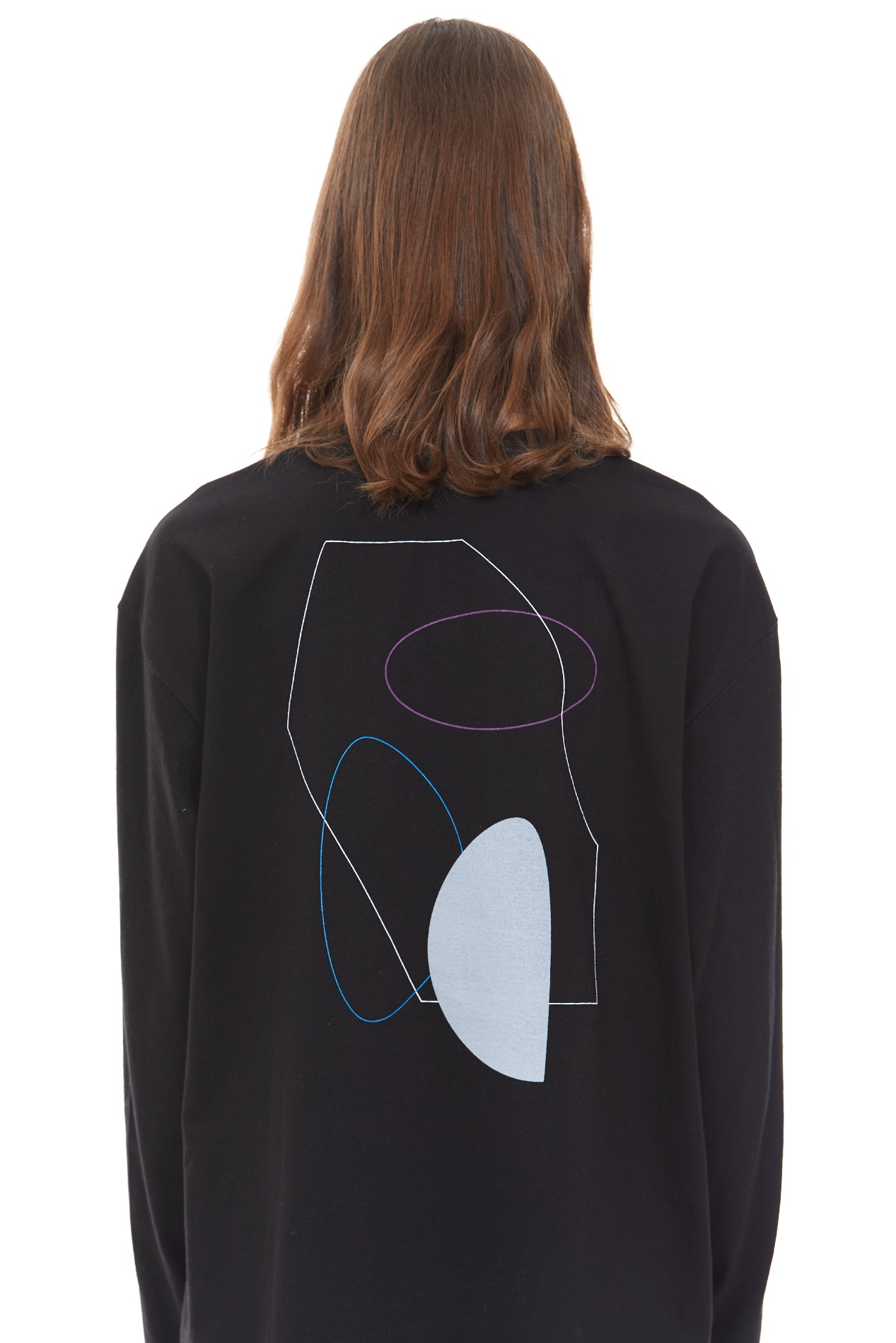 PAINTING ARCHIVE035 LONG-SLEEVE(Black)