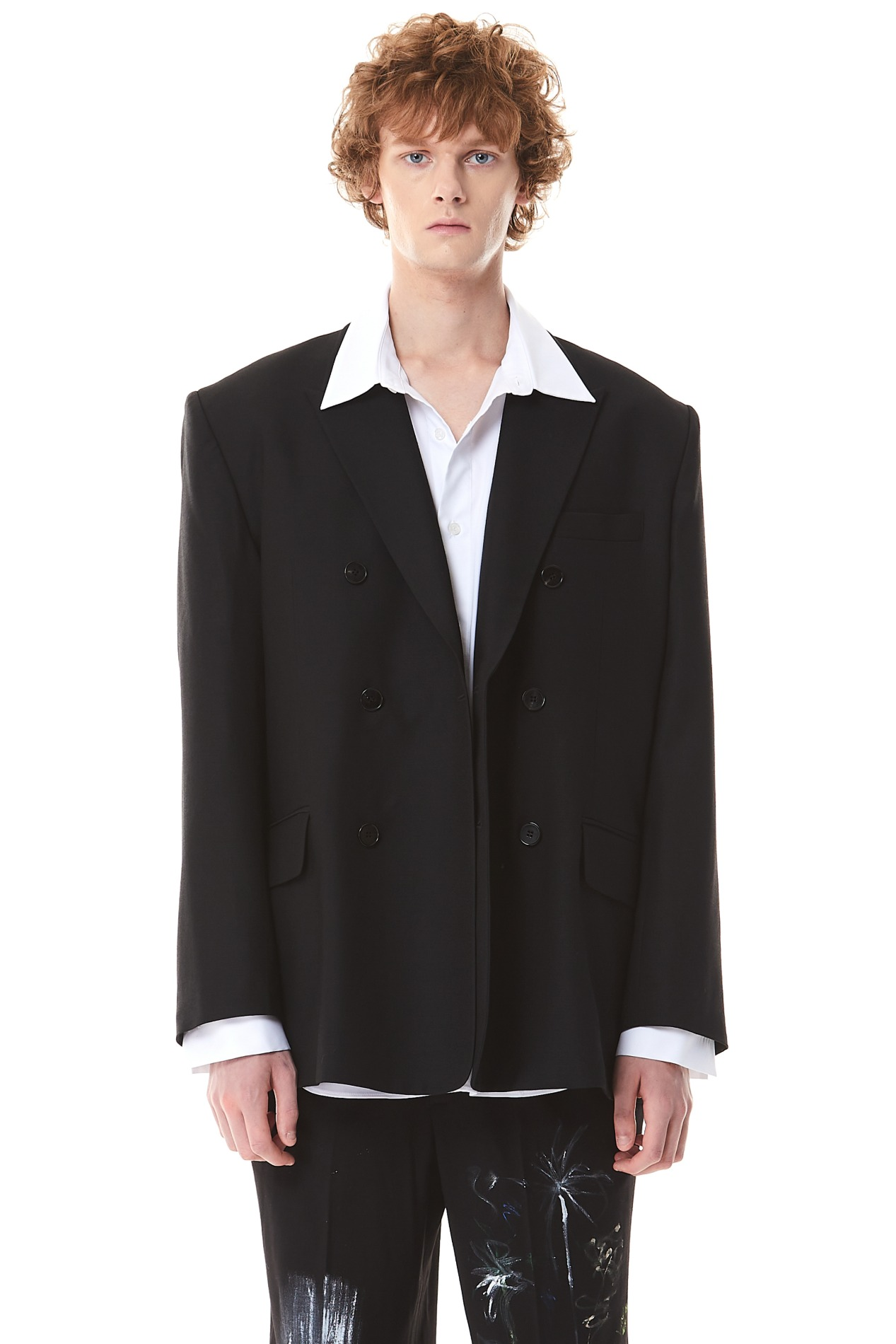 Oversized Double Jacket(Black)