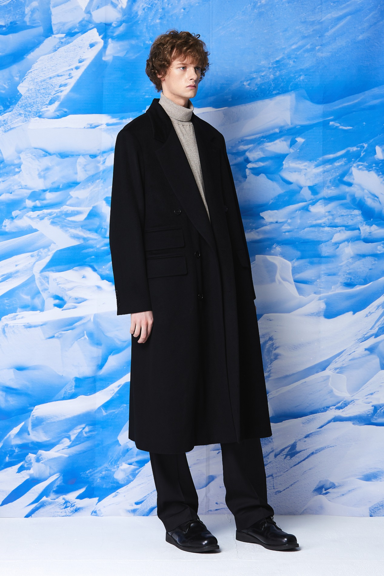[2차 PRE ORDER] Cashmere Double Maxi Coat(Black) [10월28일 출고]
