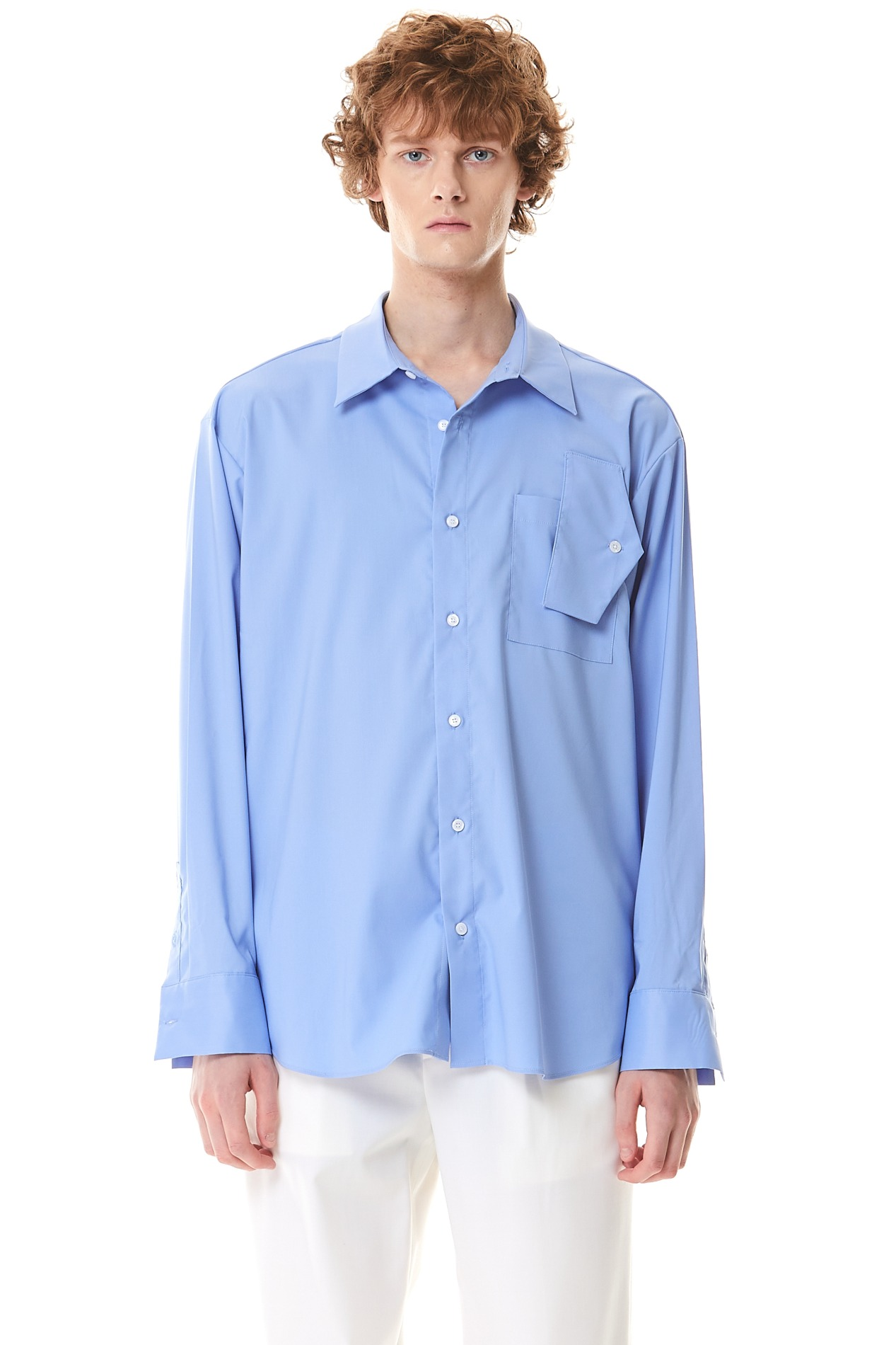 FreakPocket Over Shirt(Blue)