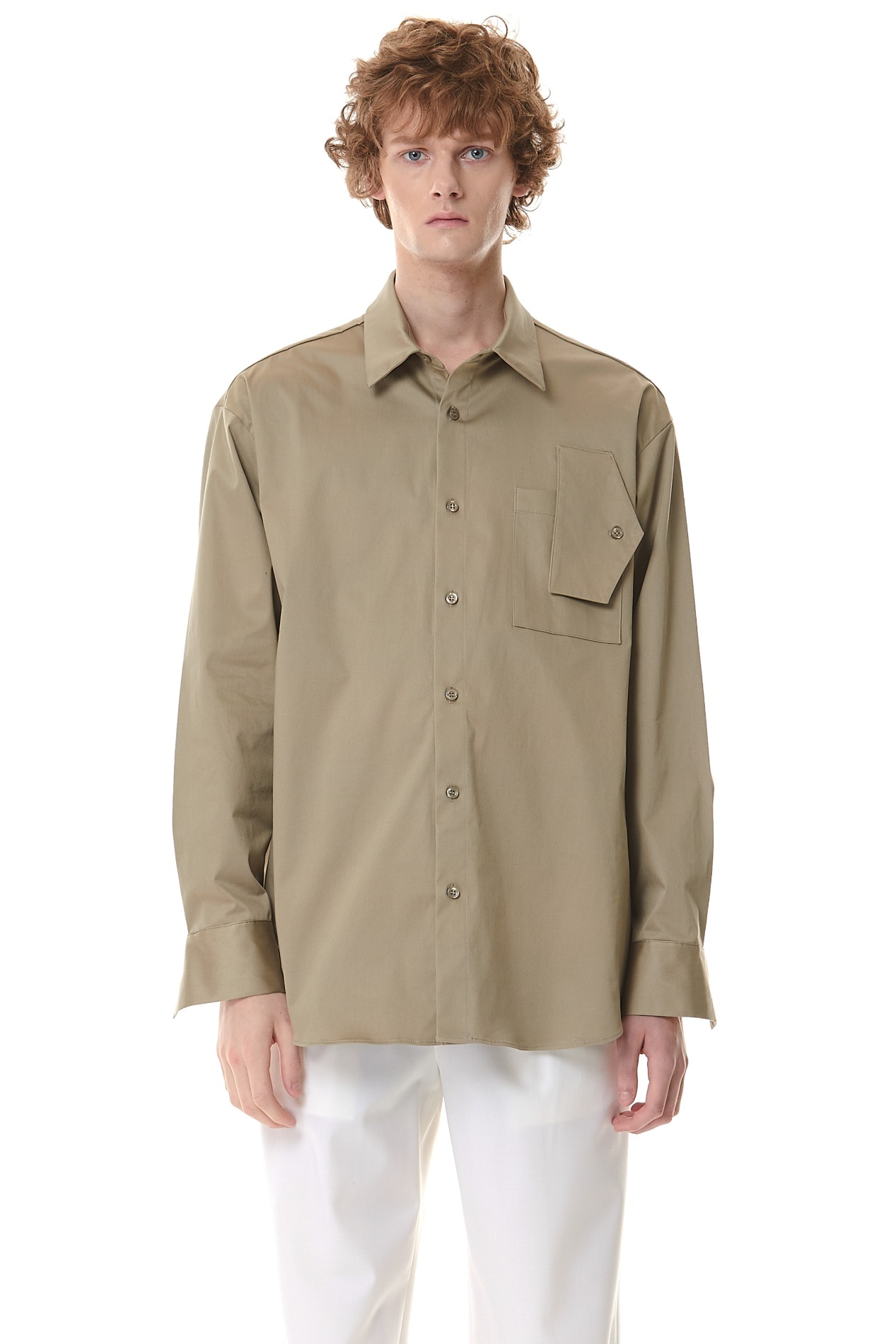 FreakPocket Over Shirt(Khaki)