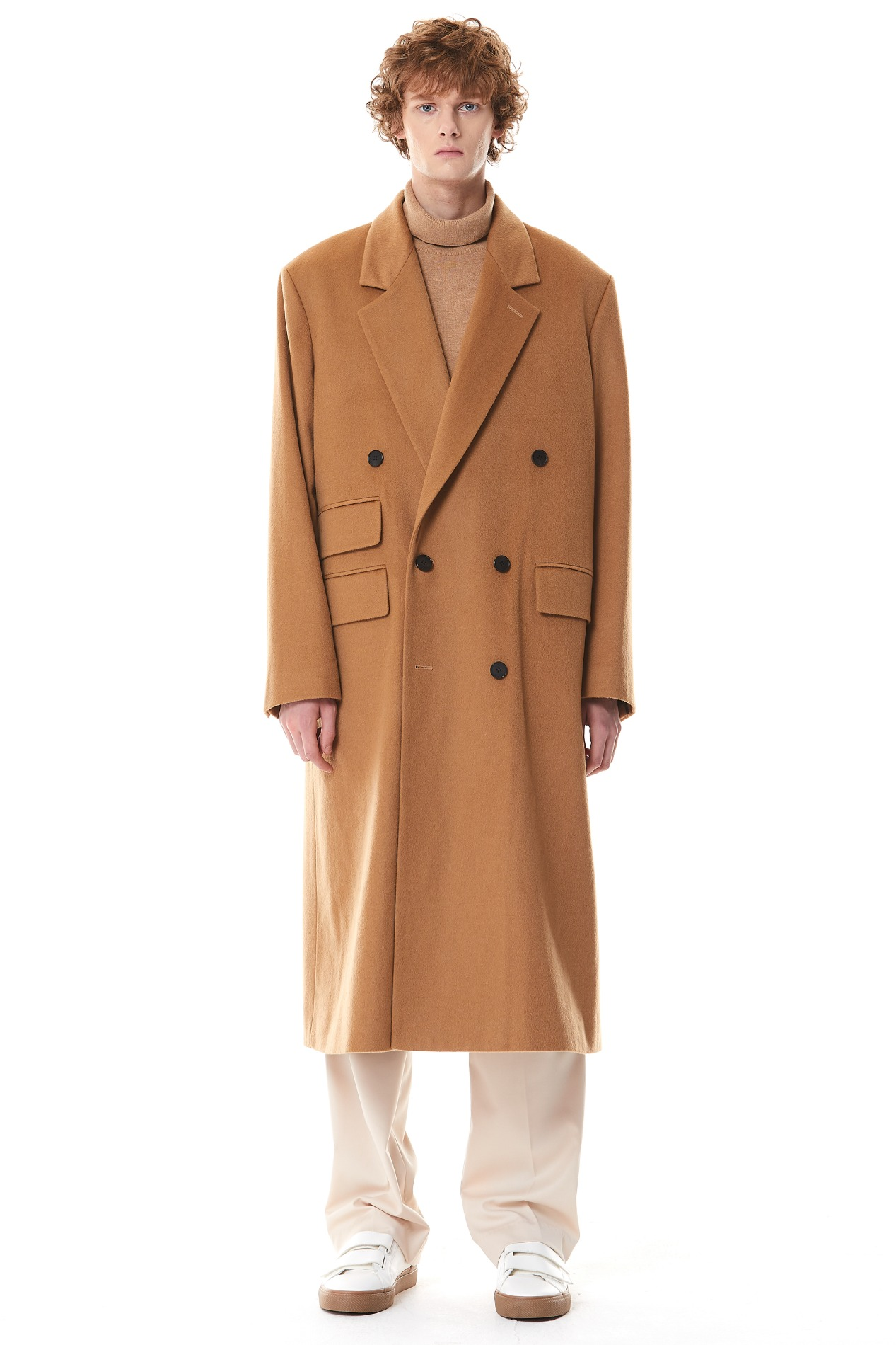 [3차 PRE ORDER] Cashmere Double Maxi Coat(Brown)